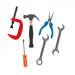 image of a set of tools